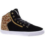Cuttler Black/Cheetah/White Womens Shoe