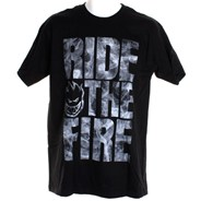 Ride The Fire S/S T-Shirt - Black