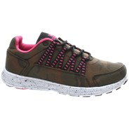 Owen Camo/Magenta/White Womens Shoe