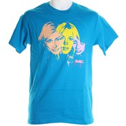 Faces S/S T-Shirt - Teal