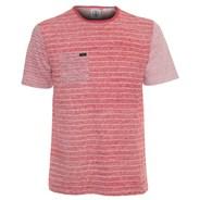 Peruzzy Crew S/S T-Shirt - Chili Red