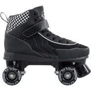 RR Mayhem Black/White Quad Roller Skates