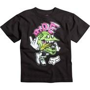 Rippler S/S Kids T-Shirt - Black