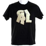 Wood Stack S/S T-Shirt - Black