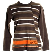 Burbank Crew Sweater - Bracken Brown