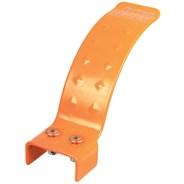 Stainless Scooter Dual Hole Flex Brake Kit 110mm- Orange