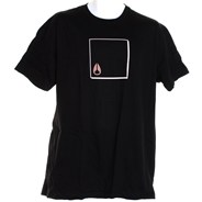 Qube Slim S/S T-Shirt - Black