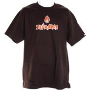 Short S/S T-Shirt - Mahogany Brown