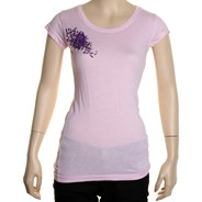 Octubre Girls S/S Tee - Cosmo Pink