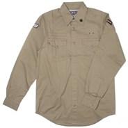 Bainbridge Slim L/S Shirt - Khaki