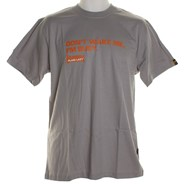 Don't Wake Me S/S T-Shirt - Grey