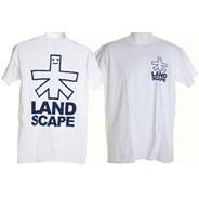 Outline Logo Backprint S/S T-Shirt - White/Black