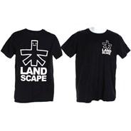Outline Logo Backprint S/S T-Shirt - Black/White