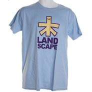 Original Logo S/S T-Shirt - Sky Blue/Yellow