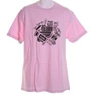 Take Em All S/S T-Shirt - Pink