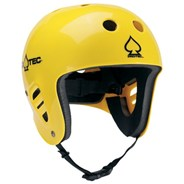 Classic Full Cut Water Helmet - Gloss Yellow