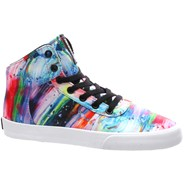 Cuttler Paint Splatter/White Womens Shoe