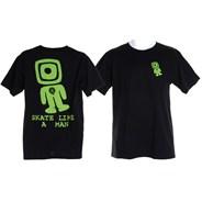 Peralta Skate Like a Man S/S T-shirt - Black