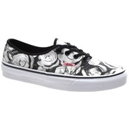 Authentic (Digi Roses) Black/True White Shoe W4NDHP