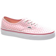 Authentic (Chambray Dots) Hot Pink Shoe W4NDE5