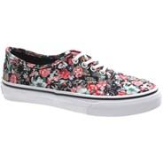 Authentic (Multi Floral) Black/True White Kids Shoe WWXDL4
