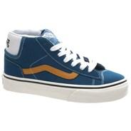 Mid Skool 77 (Earthtone Suede) Moroccan Blue Kids Shoe NK3DHY