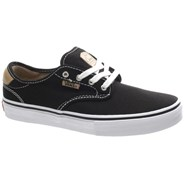 Vans Chima Ferguson Pro Black/Tan/White Kids Shoe XKZDPE