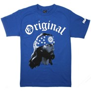 Gangsta Jesus S/S T-Shirt - Royal Blue