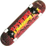 A Series Graffiti Wall Complete Skateboard