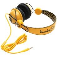Diamond Headphones - Yellow/Black