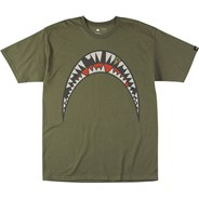 Chipped and Broken S/S T-Shirt - Olive