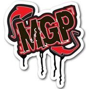 MGP Drip Logo Red Sticker