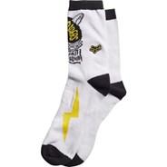 Grip White Socks