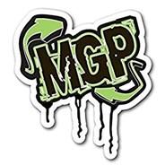 MGP Drip Logo Green Sticker