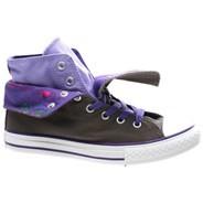 CT Two Fold Hi Kids Shoe - Charcoal 642872F