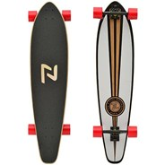 Longboard Roundtail Complete - White