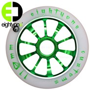 110mm alloy core wheel - Green
