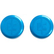 81 Customs Bar End/Overcaps - Blue
