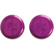 81 Customs Bar End/Overcaps - Lilac