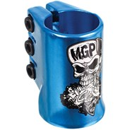 Madd Hatter Triple HIC Scooter Clamp - Blue