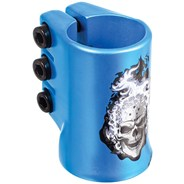 HotHead Oversized Triple Collar Scooter Clamp - Blue