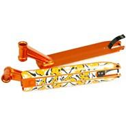 DDAM 4.5inches Street Scooter Deck - Orange