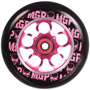 MGP Aero Skull 110mm Scooter Wheel Including Bearings - Pink