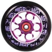 MGP Aero Skull 110mm Scooter Wheel Including Bearings - Purple