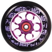 MGP Aero Skull 110mm Scooter Wheel Including Bearings - Purple