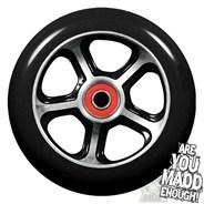 DDAM CFA 110mm Scooter Wheel Including Bearings - Black/Black