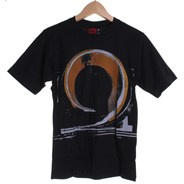 Draw Kids Fitted S/S T-Shirt - Black
