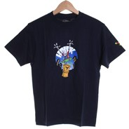 Hawxic Kids Fitted S/S T-Shirt - Navy