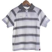 Chronik Youth S/S Knit Polo Shirt - White