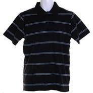 Nova S/S Polo Shirt - Black